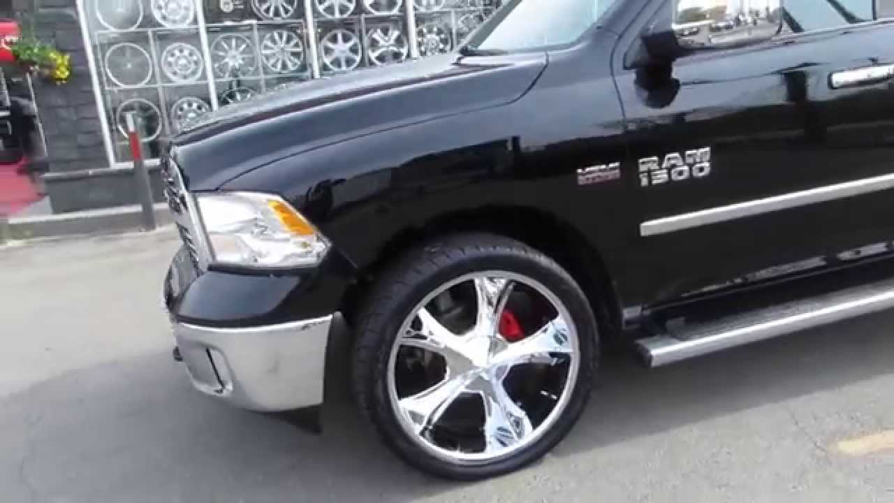 HILLYARD RIM LIONS 2014 DODGE RAM BIG HORN WITH 24 INCH