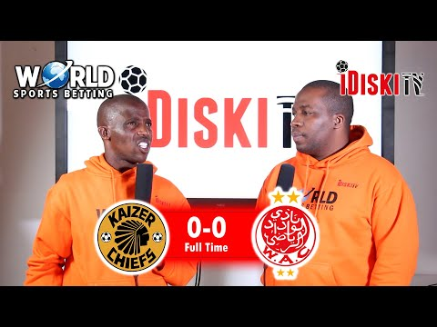 Kaizer Chiefs in the CAF Champions League Final | Junior Khanye Reaction