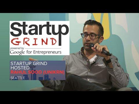 Rahul Sood (Unikrn) at Startup Grind Seattle