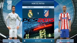 Pro Evolution Soccer 2015 Pc Gameplay Español | Primeras Impresiones Parte 1
