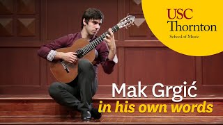 Mak Grgić: The Everyday Life of a Classical Guitarist