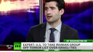 Iran terror group moved off US blacklist 'over Israeli ties'