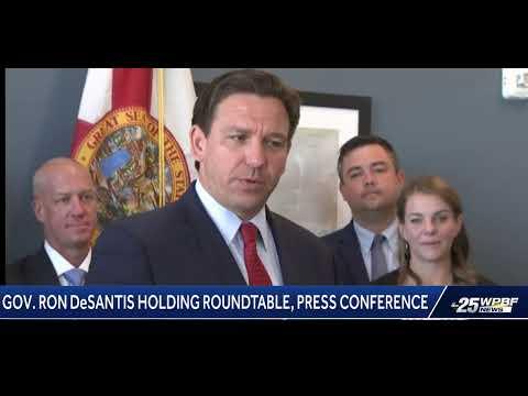 Gov.-Ron-DeSantis-Holding-Roundtable-Press-Conference