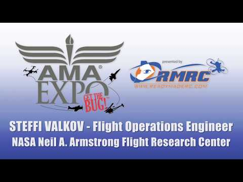 AMA Expo Speaker Series: NASA's Steffi Valkov NASA (UAS) INTEGRATION IN THE (NAS) PROJECT