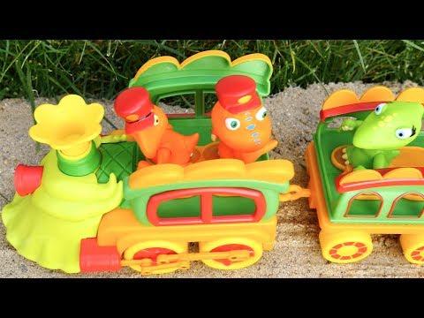 Любимые герои мультфильма «Поезд Динозавров»