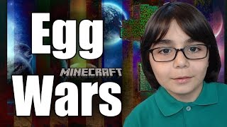 HARBİ UÇURDUK !!! - Minecraft Egg Wars