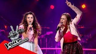 Sima en Monika zingen 'Chained To The Rhythm' | The Battles | The Voice van Vlaanderen | VTM