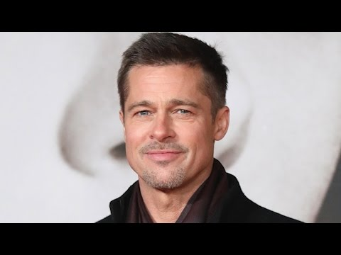 Brad Pitt Has Taken Up Sculpting Following Split From Angelina Jolie -- See His Artsy Look!