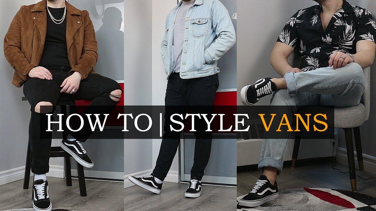 vans old skool outfits