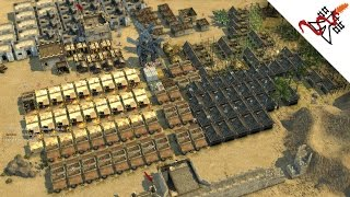 Stronghold Crusader 2 Multiplayer - 1vs1 Cubond [Bober] vs SergiuHellDragoonHQ | Deathmatch [HD]