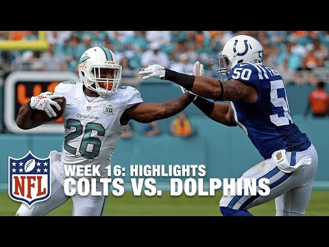 Colts vs. Dolphins | Week 16 Highlights | NFL