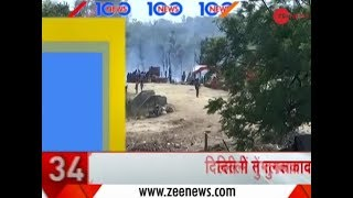 Headlines: Fire In Scrap Godown In Tughlakabad Village Of New Delhi Under Control