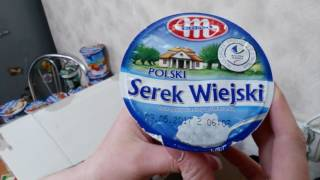 Распаковка посылки продукты из Польши rozpakowywania Produkty paczka z Polski #6