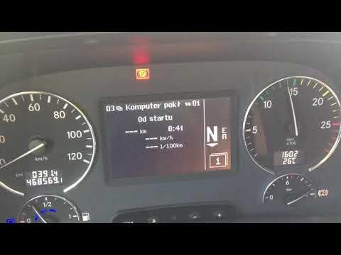 Mercedes Actros MP3 1844 sound