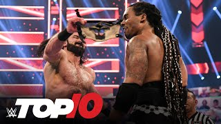 Top 10 Raw moments: WWE Top 10, April 19, 2021