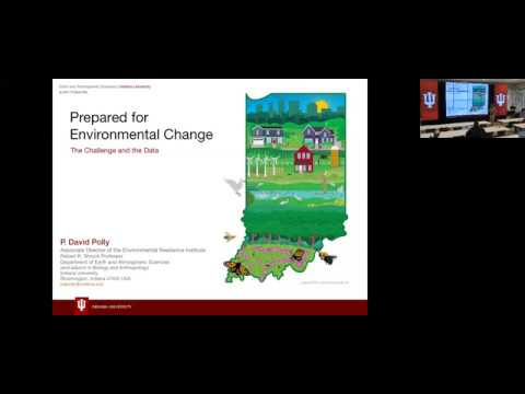 IUPTI Seminar: Prepared for Environmental Change: the Challenge and the Data Source