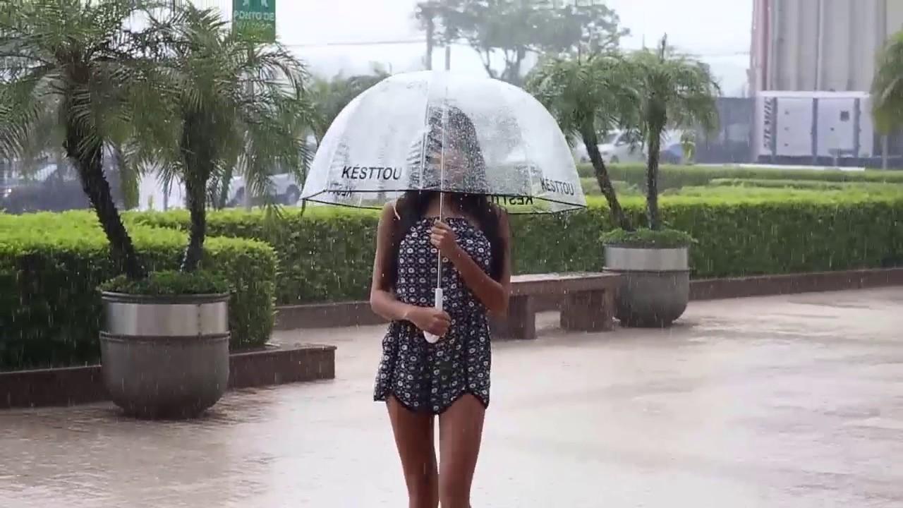 2b01f57eb Guarda-Chuva Transparente - KÉSTTOU - YouTube
