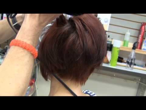 Short redhead video