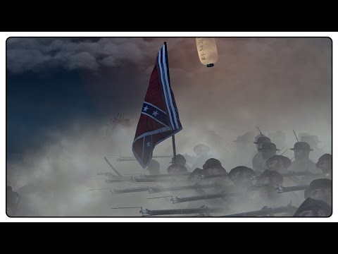 NIGHT ASSAULT AT FORT WAGNER - North&South II Total War Mod Gameplay