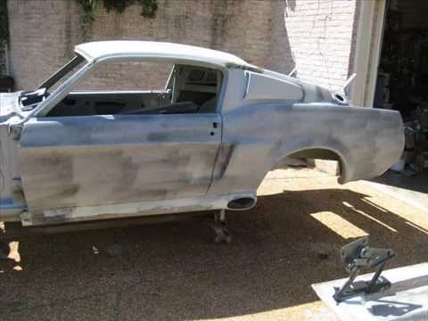 mustang fastback eleanor 1967 restoration 4 6. Black Bedroom Furniture Sets. Home Design Ideas