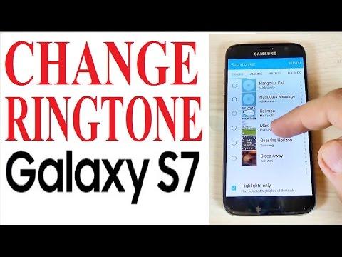 Samsung Galaxy S7, S7 edge - How to Change Ringtone