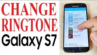 In this video tutorial i will show you how to change ringtone or set up your own custom on samsung galaxy s7 and edge (android 6.0.1). - if y...