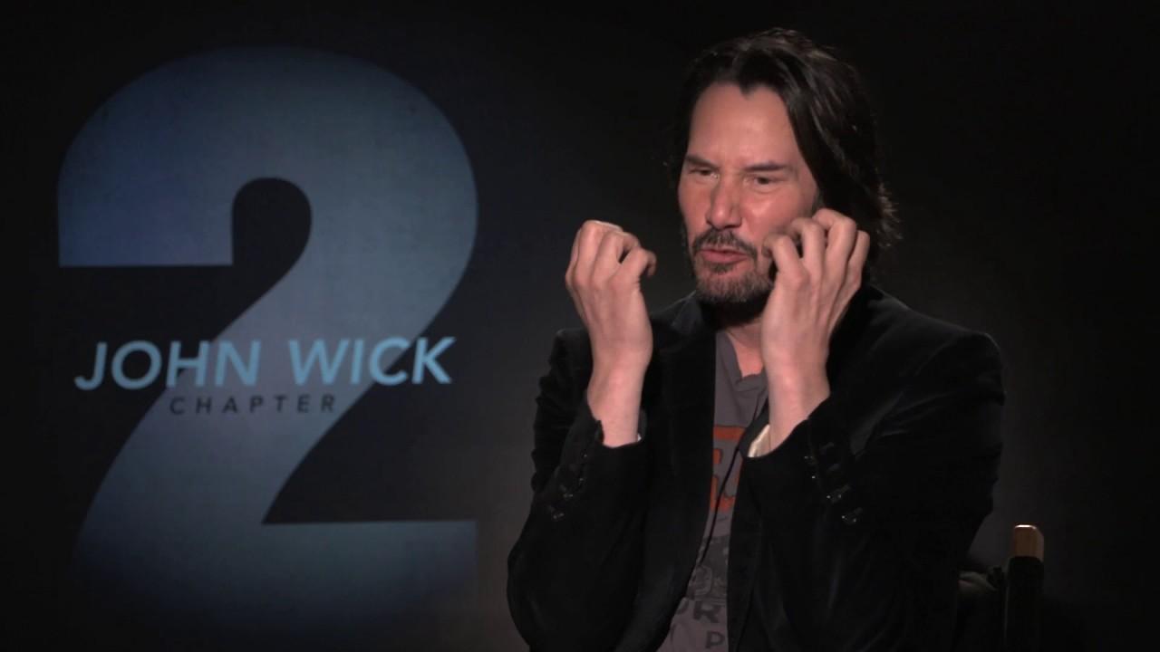 John Wick 2: Keanu Reeves John Wick 2 Interview