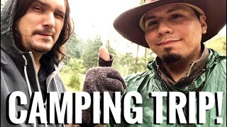 Car Camping Trip iฑ New Mexico -Cactus Juice Tequila, Fresh Jambalaya, Hail Storms!