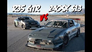 Driver Battles: R35 GTR vs. 240SX (S13)