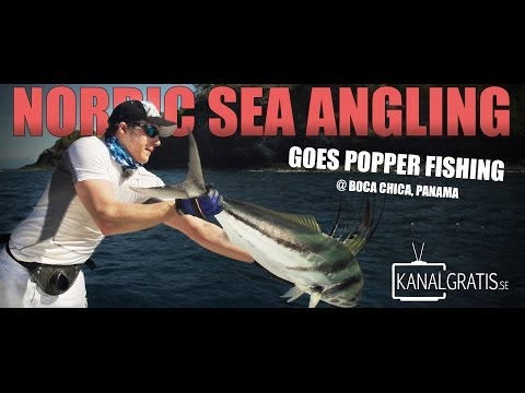 Nordic Sea Angling goes Popper Fishing @ Boca Chica, Panama
