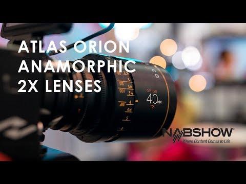 New 2x Anamorphic Lenses from Atlas | NAB 2018