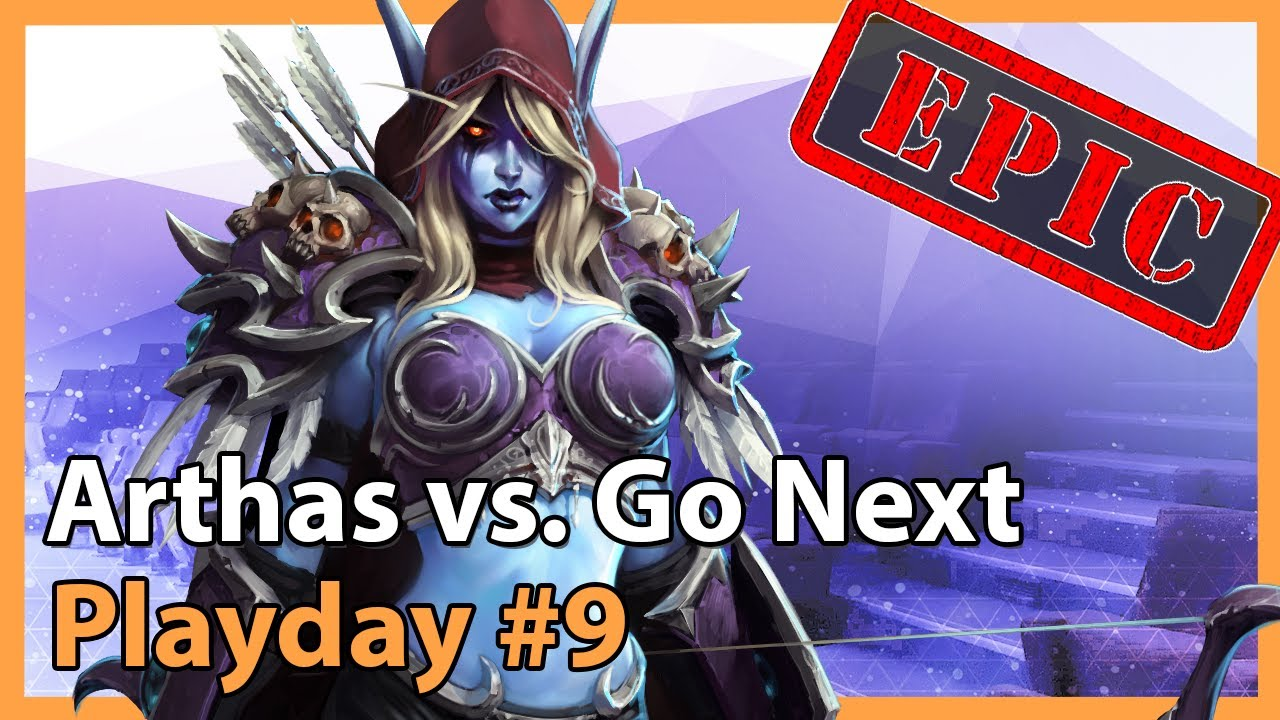 Arthas vs. Go Next - MC - Heroes of the Storm Tournament