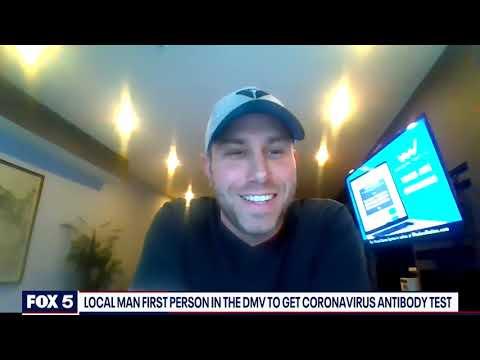 EXCLUSIVE: DC man who received coronavirus antibody test speaks with FOX 5