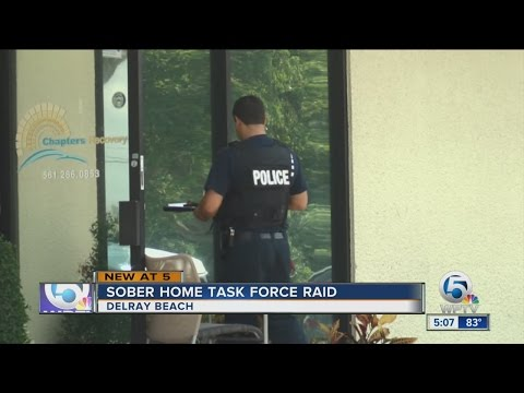 Sober Home Task Force raid