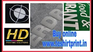 High Density (HD) Print on T shirts II HINDI