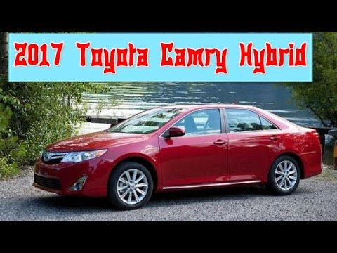 2017 toyota camry hybrid redesign interior and exterior. Black Bedroom Furniture Sets. Home Design Ideas