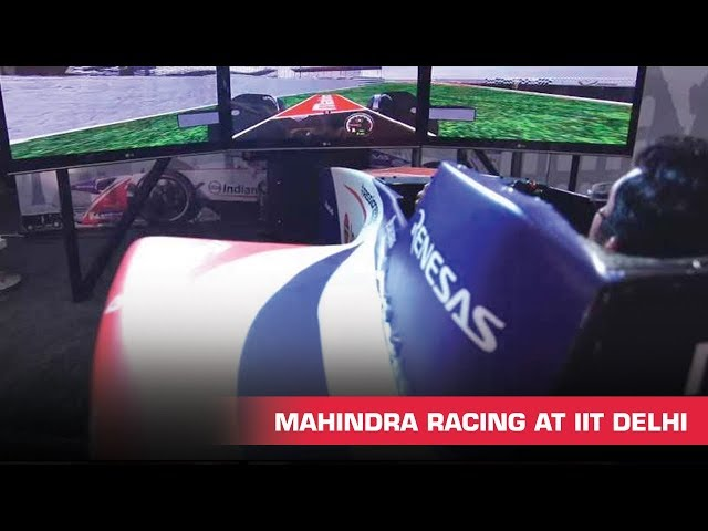 Passioneering Fever Hits IIT Delhi | Electric Car Racing | Formula E | Mahindra Racing