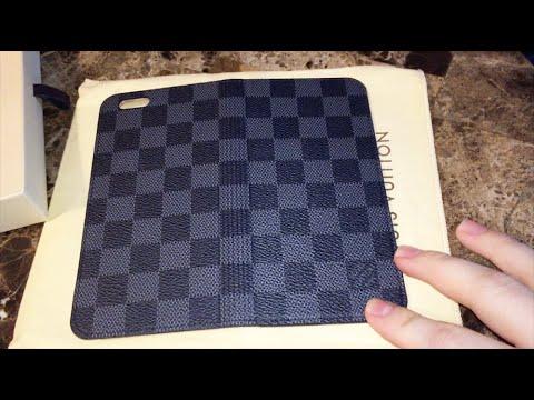 886550c1125e Louis Vuitton Review - iPhone 6 Plus Folio - N61245 - YouTube