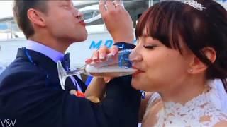 Свадьба на теплоходе Владимир и Марина 1 07 17