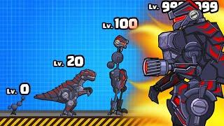 I built THE STRONGEST T-REX CYBORG in Robot Dinosaur Black T-Rex
