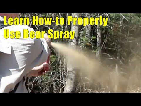Learn How-to Properly Use Bear Spray