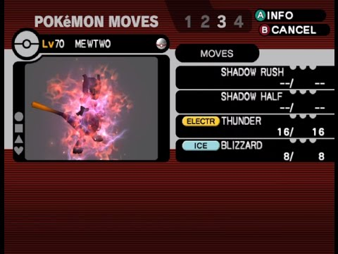Pokemon XD Gale of Darkness- Final Boss VS Shadow Mewtwo ...