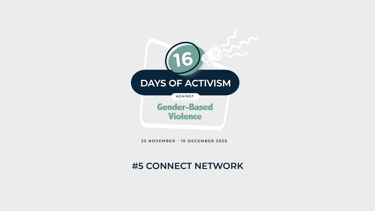 16 Days of Activism: #5 ConnectNetwork