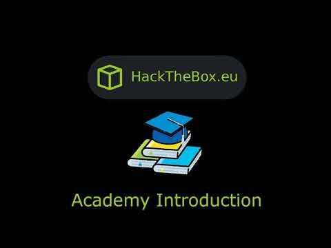 HackTheBox - Academy Intro