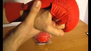 Перчатки для карате adidas wkf