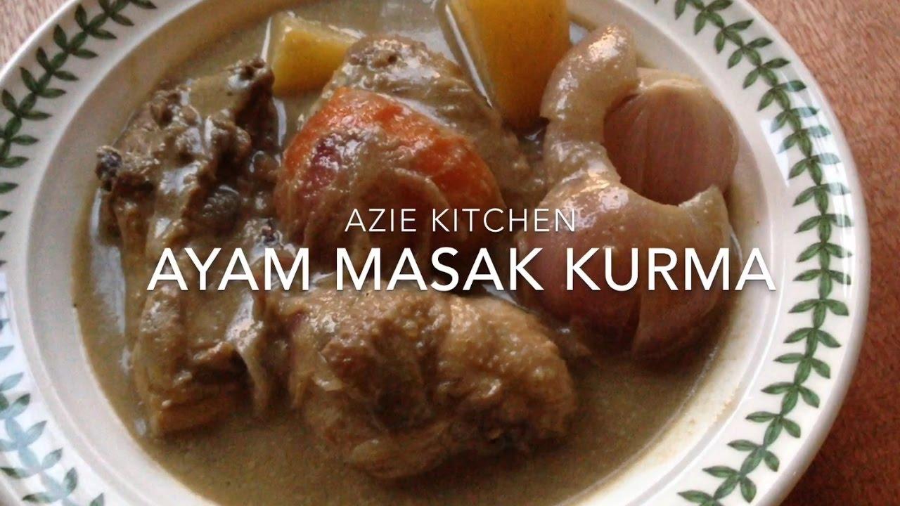 Ayam Masak Kurma Yang Sedap Youtube Kurma Recipe Recipes Grilled Meat