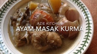 Detail recipe, please click my blog at http://aziejaya.blogspot.com Please follow me at : Instagram aziekitchen FB page Azie Kitchen Blog.