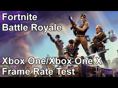 Fortnite Battle Royal Xbox One X and Xbox One Frame Rate Test (Beta)