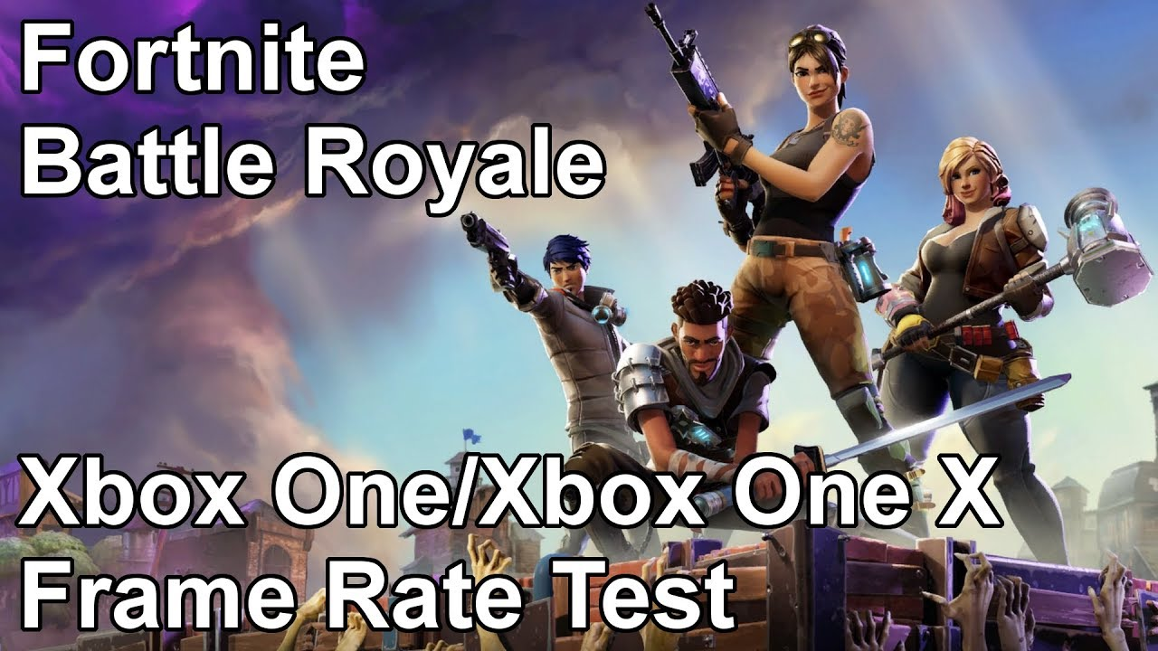 Fortnite Battle Royale Xbox One X and Xbox One Frame Rate Test (Beta ...