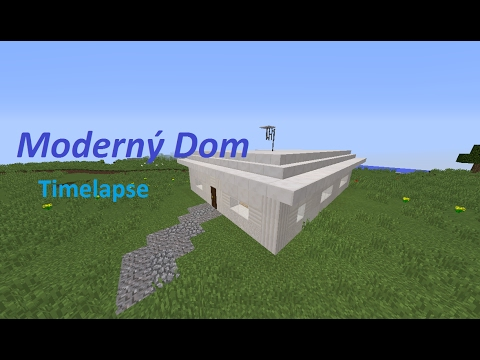 How to build a Modern House in Minecraft Timelapse YouTube